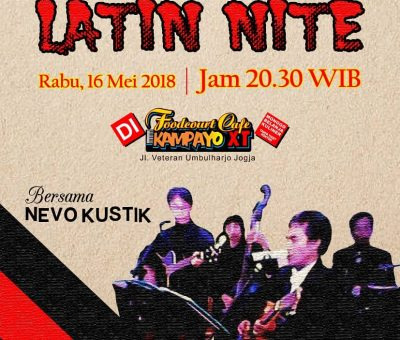 LATIN NITE with Nevo Akustik